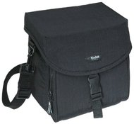Kodak Gear Crinkle Nylon Mid-Size Carry-All Case-Black