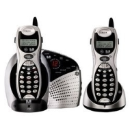 Ativa 5.8 GHz Expandable Cordless Answering System with speakerphone in Handset and Base