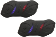 Sena SMH10R Low Profile Motorcycle Bluetooth Headset and Intercom Dual Pack