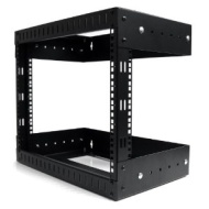 Startech 8U Open Frame Wall Mount Rack