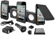 Apple iPod 8GB Touch 4th Gen w/ Accessory Bundle