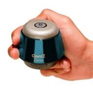 """Cambridge Soundworks OontZ Curve, Super Compact Portable Wireless Bluetooth Speaker (Metallic Blue)"""
