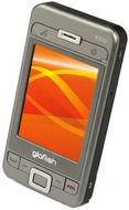 "E-TEN Glofiish X500+ - Windows Mobile 6.0 Professional - S3C2442 400 MHz - mémoire vive 64 Mo - mémoire morte 128 Mo 2.8"" TFT ( 640 x 480 ) - apparei"