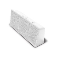 iLuv ISP202WHT - MobiTour Portable Bluetooth Wireless Stereo Speaker - White