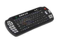 HTPCKB-100 Black RF Wireless Keyboard with IR Universal TV Remote Set