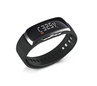 Deca International, Inc. GolfBuddy BB5 Golf GPS LED Band, Black/Silver