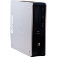 HP Refurbished Black DC5800 Desktop PC with Intel Dual-Core Processor, 4GB Memory, 250GB Hard Drive and Windows 7 Professional (Monitor Not Included)