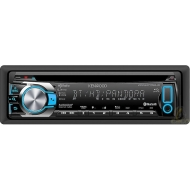 Kenwood KDC-108 - 50W x 4 In-Dash CD Deck with MP3 Playback and Detachable Faceplate