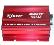 Kinter MA-150 500W Amplifier Digital Stereo Amplifier For Car Motorcycle and Boat