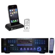 PYLE PRO PD1000A - DVD player / AV receiver / digital player