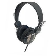 Syba CL-AUD63027 Over the Ear Circumaural Headphone with 3.5mm Connector - Black