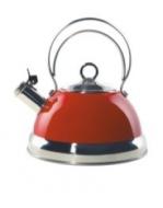 Wesco Unisex Wasserkessel rot ca. 25/23/21 cm