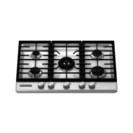 "KitchenAid 30"" Gas Cooktop KFGS306V"