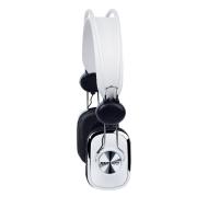 Merkury Retro Headphones - White