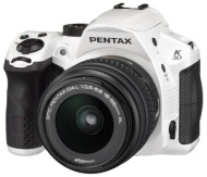Pentax K-30 DSLR Camera with 18-55mm DAL Lens Kit - White (16MP, CMOS APS-C Sensor) 3 inch LCD