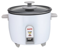 Sanyo EC-505 5-Cup Rice Cooker and Vegetable Steamer