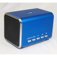 MINI 2.0 CHANNEL Ultra Light Aluminium USB Portable Travel Speaker For Laptop Desktop MAC Computer Netbook - Plug-and-Play to any 3.5mm headphone sock
