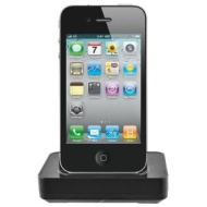 Seidio Desktop Cradle Kit for Apple iPhone 4 - Retail Packaging - Black