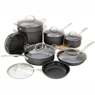 Cuisinart Chef's Classic Nonstick Hard-Anodized 14-Piece Cookware Set