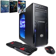 CyberPowerPC Black Gamer Ultra GUA2600W Desktop PC with AMD Vishera FX-8320 Octa-Core Processor, 16GB Memory, 2TB Hard Drive and Windows 8.1 (Monitor