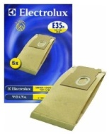 Electrolux Upright Vacuum Cleaner Genuine Paper Bags, Pack Of 5, To Fit Airclean, Airstream, Airstream 1000, Contour, Contour 2, Elite Z13