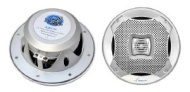 Pyle Lanzar AQ6CXS 400 Watts 6.5-Inch 2-Way Marine Speakers (Silver)
