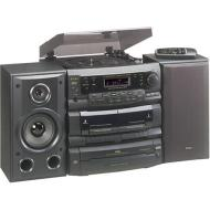 TEAC DCD-D6300 3-CD Shelf System with Turntable