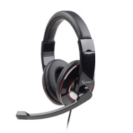 USB Digital Headset Headphones with Rotating Microphone MIC Boom for PC Gaming Desktop & Laptop   Stylish Adjustable Comfortable Large Ear Cushions an