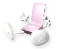 Zadro Speakerman Stereo Amplifier, Pink