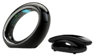 iDECT Eclipse Twin DECT Phone with Answer Machine - Black