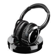 AWD211 Wireless Headphones - Black (Enclosed)