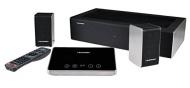 Blaupunkt LS 240-1 Hometheatre mit kabellosem Subwoofer, lernbare Fernbedienung, Bluetooth, digitale und analoge Eingänge, 750 Watt Musikleistung, Alu