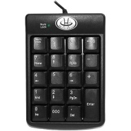 Gear Head 19-Key Numeric Keypad, KP2200U