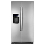 Whirlpool 25 Cu. Ft. Stainless Steel Side-By-Side Refrigerator - WRS965CIAM