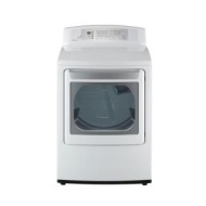 LG 7.1 cu. ft. Electric Dryer - White