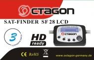 Octagon SF-28 LCD Satfinder mit Kompass und Ton