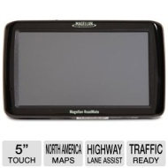 RoadMate 5045-LM Auto GPS - 5 Touch Screen Display Free Lifetime Map Updates Free Lifetime Traffic North American Maps (Refurbished) Magellan RoadMate