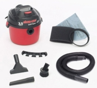 Shop-Vac 2-1/2-Gallon 2 HP Wet/Dry Vacuum with Accessories #5860262