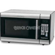 Cuisinart - 1.0 Cu. Ft. Mid-Size Microwave - Stainless-steel