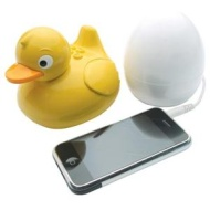 iDuck MP3 / iPod Speaker With Egg Transmitter