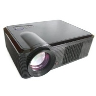New LED HD Projector LED33 Home Theatre with HDMI FreeView DVB-T USB & Free HDMI Cable + HDMI Splitter Cable