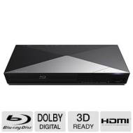Sony 3D Blu-ray Disc Player With Full HD 1080p Resolution, Built-in 2.4 GHz Sony Super Wi-Fi, 2D/3D Full HD 1080p Playback, Dolby TrueHD & DTS-HD Mast
