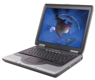 Compaq Presario 2140US Laptop (1.80-GHz Athlon XP-M 2200+, 512 MB RAM, 40 GB Hard Drive, DVD/CD-RW Drive)