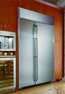Dacor Built In Side-by-Side Refrigerator EF42BNDB