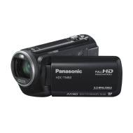 Panasonic TM80 Full HD Camcorder - Black (16GB Inbuilt Flash, x42 Intelligent Zoom, x37 Optical Zoom, Wide Angle Lens & iA + Face Recognition & New Hy