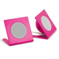 Merkury Innovations M-SPM220 Universal Square Stereo Speaker (Pink)