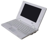 NEW 4Gb White 7 inch Mini Laptop Netbook. Android 2.2. Latest Software. Latest build.