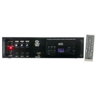 Pyle Home PD450A Professional PA Amplifier with Built-In DVD/CD/MP3/USB/70-Volt Output