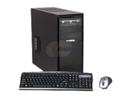 iBUYPOWER Gamer Power 913i Desktop PC Intel Core i3 2120(3.30GHz) 8GB DDR3 500GB HDD Capacity Intel HD Graphics 2000 Windows 7 Home Premium 64-Bit
