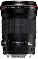 Canon 135mm f/2.0L USM Telephoto Lens Exclusive Pro Kit